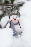 Muñeco de nieve feliz Foto de archivo
