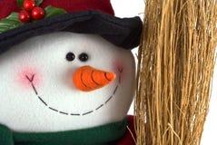 Muñeco de nieve feliz Foto de archivo libre de regalías