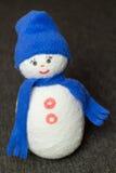 Muñeco de nieve juguete suave Imagen de archivo