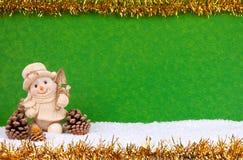 Muñeco de nieve lindo Fotos de archivo libres de regalías