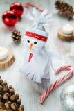 Muñeco de nieve para la Navidad Imágenes de archivo libres de regalías
