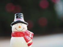 Muñeco de nieve sonriente Imagen de archivo