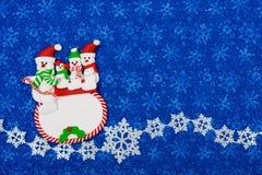 Muñecos de nieve Foto de archivo
