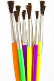 muśnięć farby akwarela Zdjęcia Stock