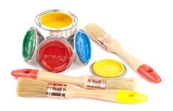 muśnięć puszka farba Zdjęcie Stock