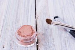 Muśnięcia dla cieni Kosmetyki dla twarzy Obraz Royalty Free