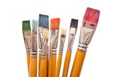 muśnięcie farba Obraz Stock