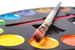 muśnięcie farby Fotografia Stock