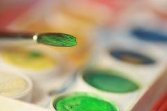 Muśnięcie i colour Zdjęcie Stock