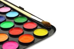 muśnięcie maluje watercolour Zdjęcia Royalty Free