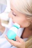 Muśnięcie myć twój twarz Fotografia Stock