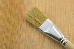Muśnięcie na drewnianym tle Zdjęcie Royalty Free