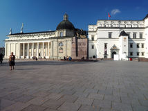 立陶宛和全国Mu俄国沙皇时代的太子的社论宫殿 图库摄影