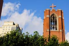 Mu-en Protestant Church Stock Image