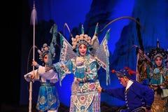"Mu Guiying-Peking Opera"" Women Generals of Yang Family"" Stock Image"
