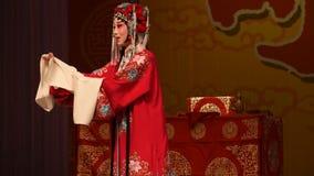 """Mu Guiying was a heroic woman- Beijing Opera"""" Women Generals of Yang Family"""" stock video"""