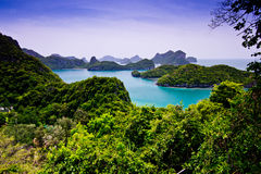 Mu Ko Ang皮带国家公园 库存图片