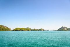 Mu Ko Ang paska wyspa Obrazy Stock