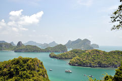 Mu Ko Angthong Island Royalty Free Stock Photos