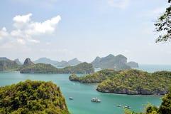Mu Ko Angthong Island. Angthong marine nationalpark at samauiThailand Royalty Free Stock Photos