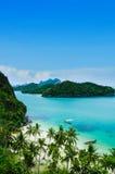 Mu Koh Ang Paska Park Narodowy Obrazy Royalty Free
