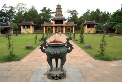 mu-pagodaen thien Royaltyfri Bild