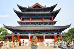 MU-Wohnsitz in der alten Stadt von Lijiang Lizenzfreie Stockfotografie