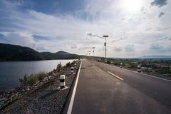 Muak阿尔巴尼亚的货币单位水坝在Saraburi 免版税库存照片