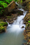 Muak Lek waterfall in Thailand Stock Image