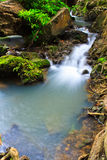 Muak Lek waterfall in Thailand Stock Photos