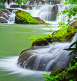 Muak Lek waterfall in Thailand Stock Photos