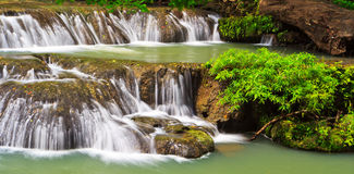 Muak Lek waterfall in Thailand Stock Image