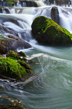 Muak Lek waterfall in Thailand Royalty Free Stock Photo