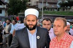 Muamer Zukorlić in Prizren Stock Image