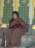 muammar Al的gaddafi 库存照片