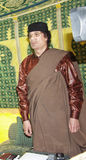 Muammar al Gaddafi Stock Photo