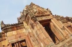 Muang胃武里喃府泰国圣所废墟  免版税图库摄影