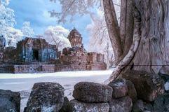 Muang canta el parque histórico IR Fotografía de archivo