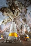 Muang On Cave hall in Thailand Stock Images