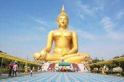 Muang dorato del wat di Buddha, cinghia Tailandia del ANG Fotografie Stock Libere da Diritti
