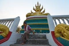 Muang Khong, Don Khong, Laos Stock Photo