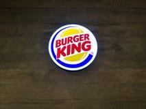 Muang, Nakhonratchasima / Thailand - April 27, 2018: Burgerking royalty free stock image