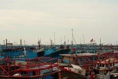 Muara Angke port zdjęcia stock