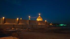 Muawiyah宫殿在纳亚夫,伊拉克 免版税库存照片