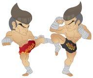 Muay het Thaise Vechten Royalty-vrije Stock Afbeelding