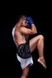 Muay siamesischer Boxer lizenzfreies stockfoto