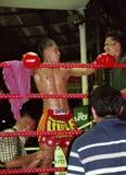Muay tailandés Foto de archivo libre de regalías