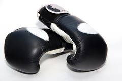Muay thai boxing gloves Royalty Free Stock Photos