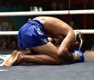 Muay Thai in Chiang Mai Stock Photos