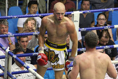 Muay Thai fight Stock Images